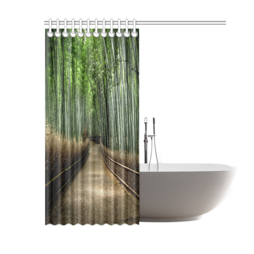 "Nature Shower Curtain 60""x72"""