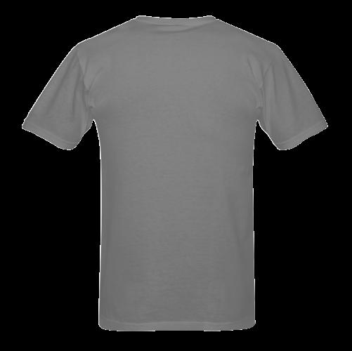 Black Fender Jaguar Sunny Men's T- shirt (Model T06)