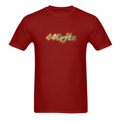 440Hz Sunny Men's T- shirt (Model T06)