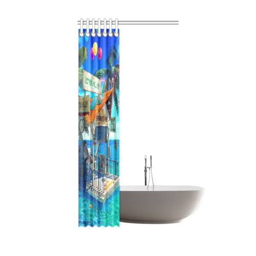 "Anime Scenery Shower Curtain 36""x72"""