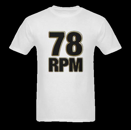 78 RPM Sunny Men's T- shirt (Model T06)