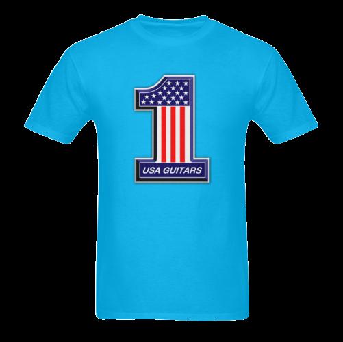 USA guitars Sunny Men's T- shirt (Model T06)