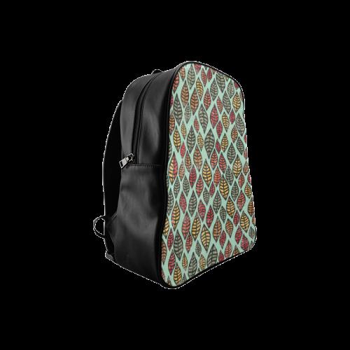 Beautiful leaf color School Backpack/Large (Model 1601)