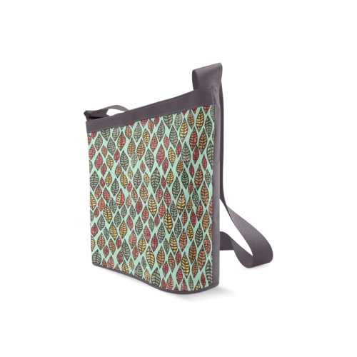 Beautiful leaf color Crossbody Bags (Model 1613)