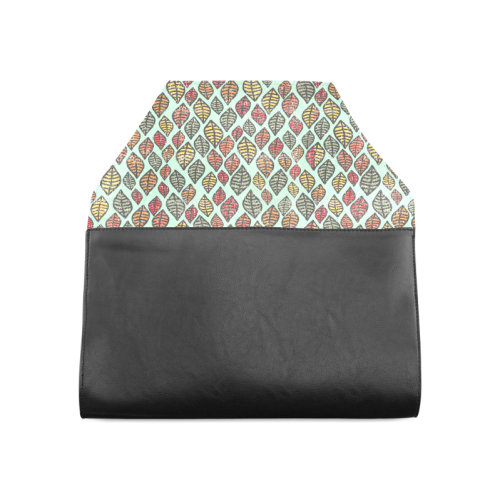 Beautiful leaf color Clutch Bag (Model 1630)