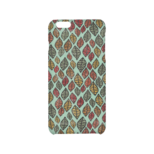 Beautiful leaf color Hard Case for iPhone 6/6s plus