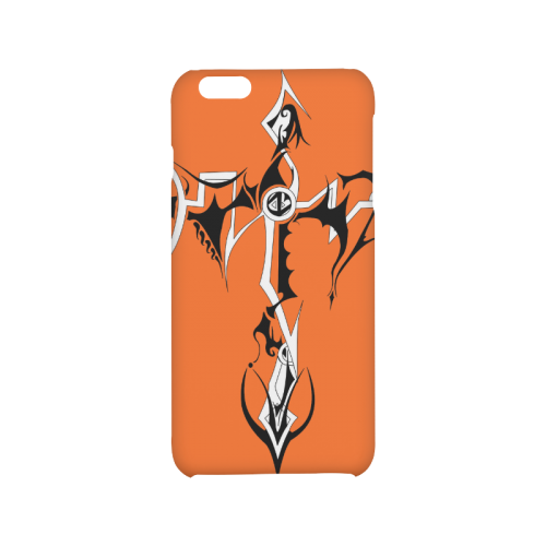 Artsadd Custom Tribal Cross Tattoo Designs Hard Case for iPhone 6/6s plus
