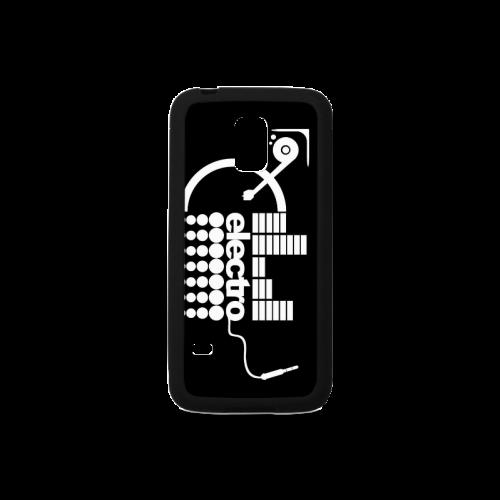Popular Electro Music Pattern Unique Design Rubber Case for Samsung Galaxy S5 mini
