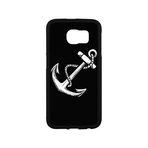 Simple Anchor Tattoo Designs Popular Sale Rubber Case For Samsung