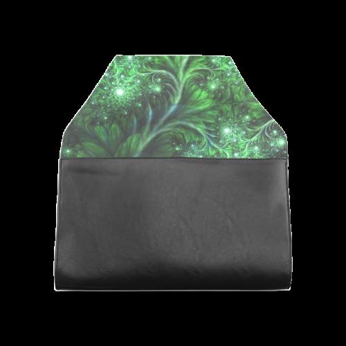 Beautiful plant leaf texture Clutch Bag (Model 1630)