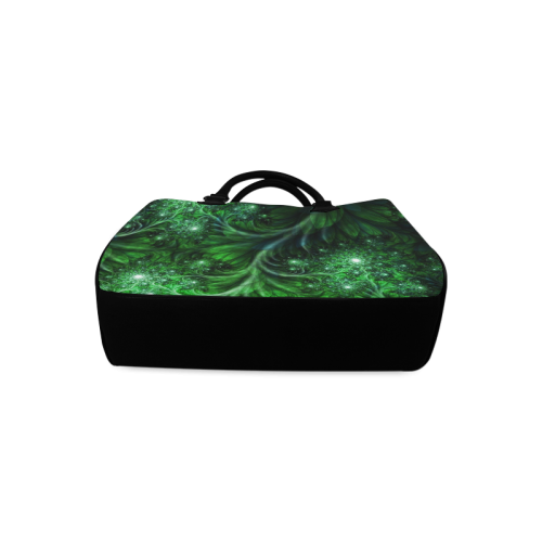 Beautiful plant leaf texture Boston Handbag (Model 1621)