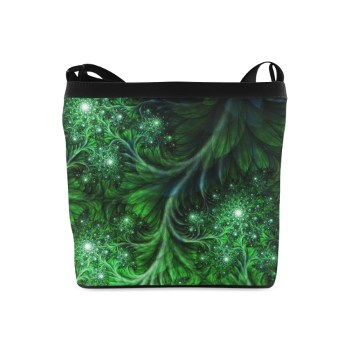 Beautiful plant leaf texture Crossbody Bags (Model 1613)
