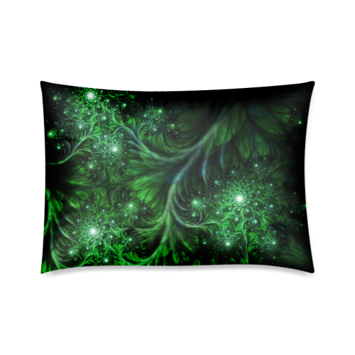 "Beautiful plant leaf texture Custom Zippered Pillow Cases 20""x30""(Twin Sides)"