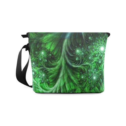 Beautiful plant leaf texture Crossbody Bag/Large (Model 1631)