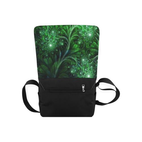 Beautiful plant leaf texture Messenger Bag (Model 1628)