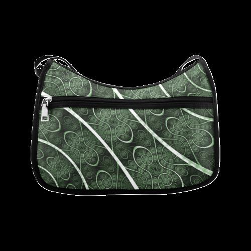 Beautiful curve texture pattern Crossbody Bags (Model 1616)