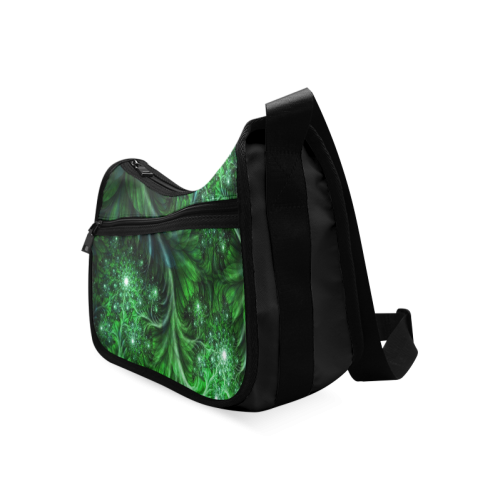 Beautiful plant leaf texture Crossbody Bags (Model 1616)