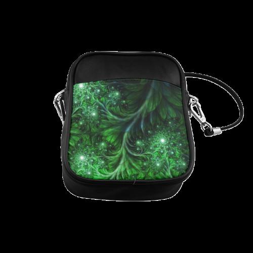 Beautiful plant leaf texture Sling Bag (Model 1627)