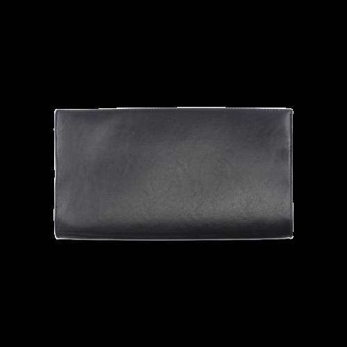 Black Polka Dot Design Clutch Bag (Model 1630)