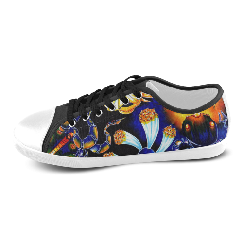 Art Girl Women's Canvas Shoes (Model 016)