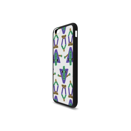 Abstract pattern Rubber Case for iPhone 6/6s Plus