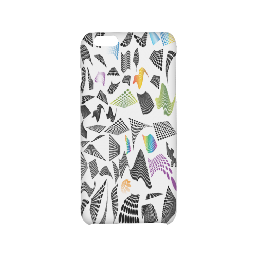 Abstract halftone design Hard Case for iPhone 6/6s plus