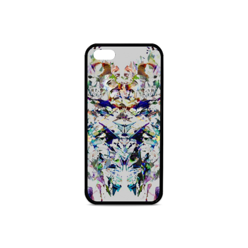 Abstract art Rubber Case for iPhone 5/5s