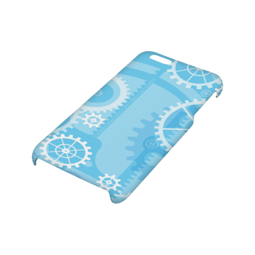 Blue mechanism Hard Case for iPhone 6/6s plus