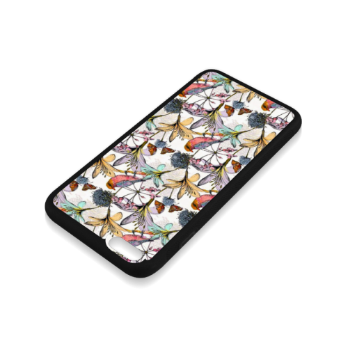 Beautiful flowers Rubber Case for iPhone 6/6s Plus