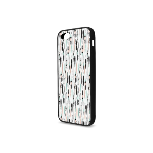 Arrow pattern fabric Rubber Case for iPhone 5/5s