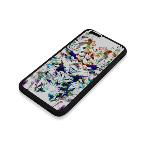 Abstract art Rubber Case for iPhone 6/6s Plus