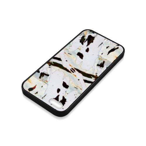 Abstract beauty Rubber Case for iPhone 5/5s