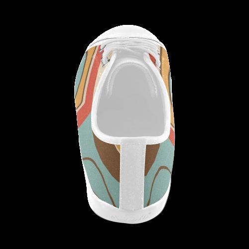 1180retro Women's Canvas Shoes (Model 016)