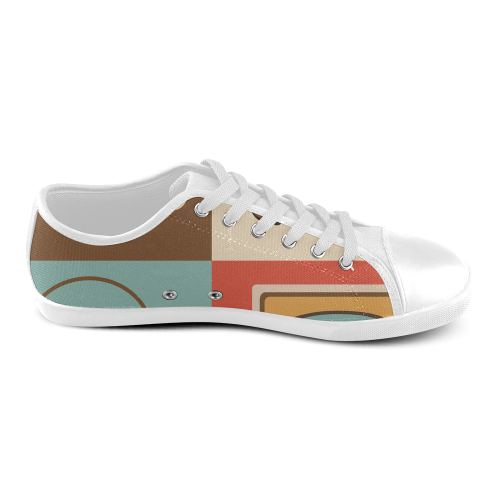 1180retro Women's Canvas Shoes (Model 016)