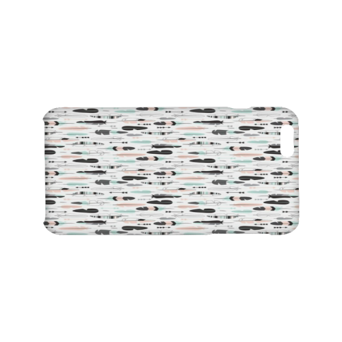Arrow pattern fabric Hard Case for iPhone 6/6s plus