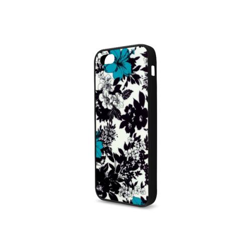 Black and blue design Rubber Case for iPhone 5/5s