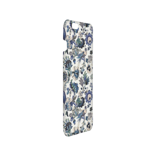 Blue porcelain Hard Case for iPhone 6/6s plus