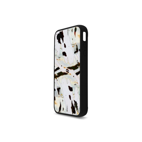 Abstract beauty Rubber Case for iPhone 4/4s