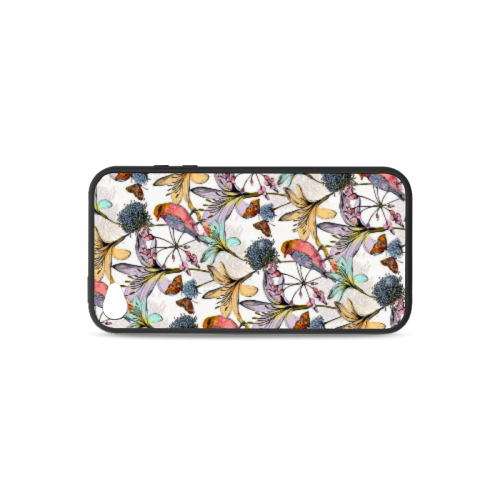 Beautiful flowers Rubber Case for iPhone 4/4s