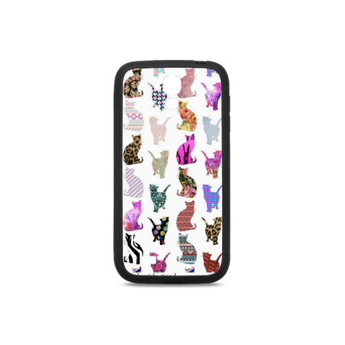 Naughty Cat Rubber Case for Samsung Galaxy S4