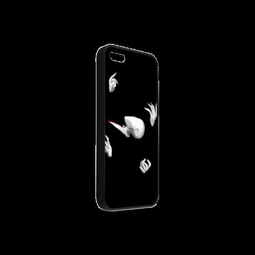 Abbstract Design Las Manos De Slenderman Rubber Case for iPhone 5/5s