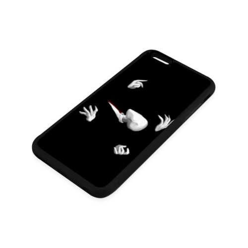 Abbstract Design Las Manos De Slenderman Rubber Case for iPhone 6/6s Plus