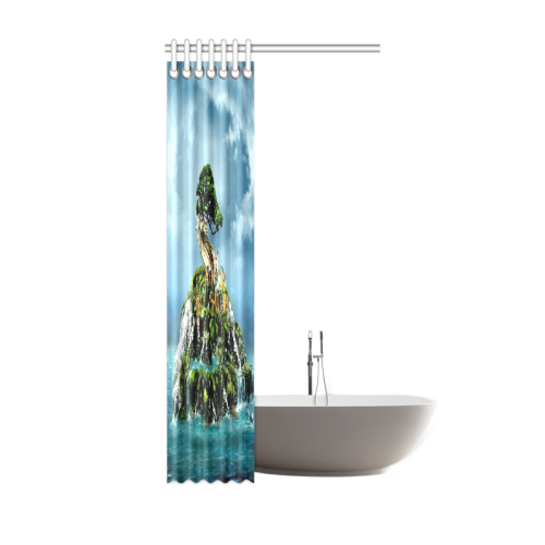 "3D nature Shower Curtain 36""x72"""