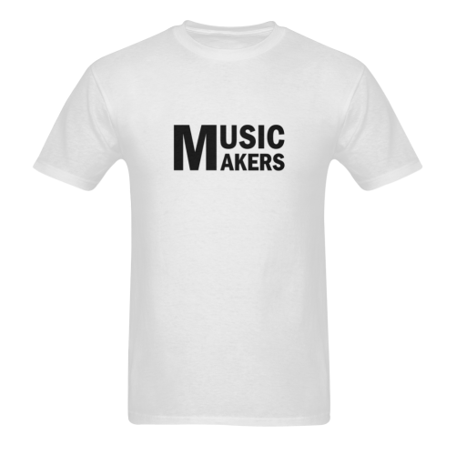 Black Music Makers Sunny Men's T- shirt (Model T06)