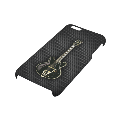 Black gibson-es-345 Hard Case for iPhone 6/6s plus