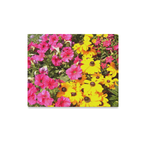 "Beauty of Flowers Canvas Print 20""x16"""