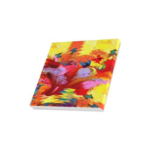 "Abstract Painting Canvas Print 16""x16"""