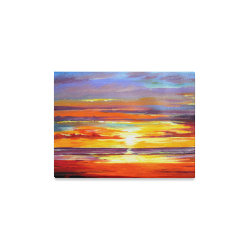 "Beauty of Sunset Canvas Print 16""x12"""