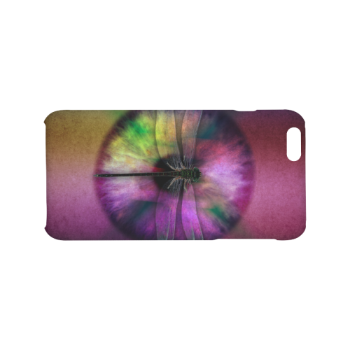 Abstract Dragonfly Eye Art Design. Hard Case for iPhone 6/6s plus