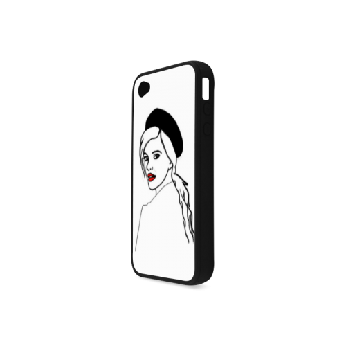 Beautiful iPhone Case Rubber Case for iPhone 4/4s